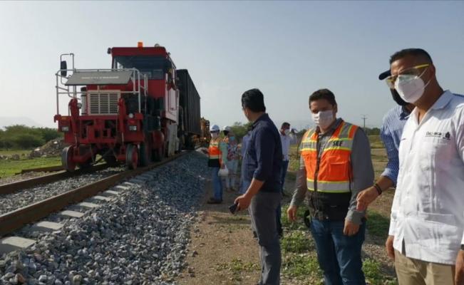 Obras de Transístmico no paran ni por sismos o pandemia: Murat