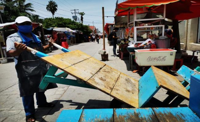 Ciudad Ixtepec prohibe el paso a habitantes de Juchitán por miedo a contagios de Covid-19