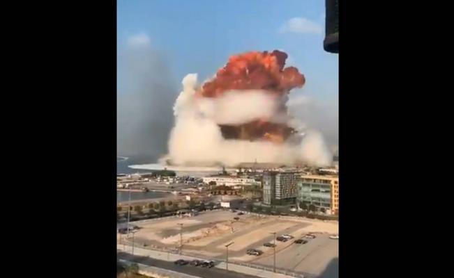 Video. Explosión en zona costera de Beirut deja varios heridos
