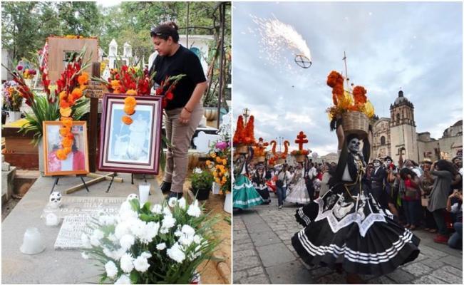 Por aumento acelerado de Covid-19, Oaxaca de Juárez prohíbe toda actividad de Día de Muertos