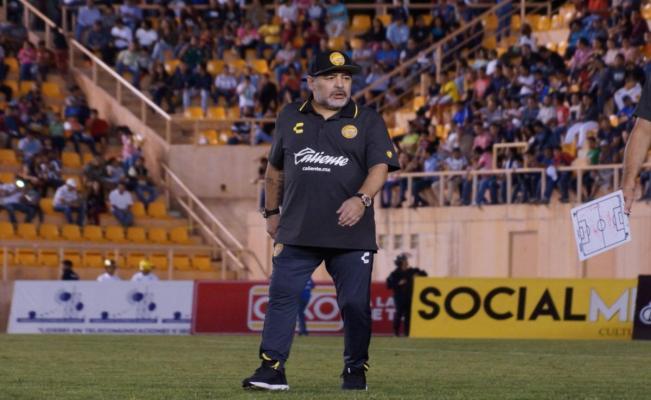 La primera derrota de Maradona como DT en México fue en Oaxaca