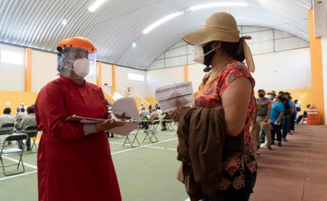 Así fue la jornada de vacunación contra Covid-19 en Oaxaca