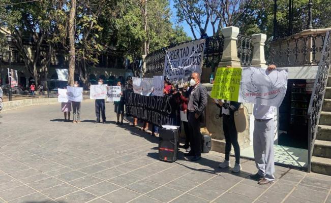 Exigen a la Fiscalía de Oaxaca retirar cargos contra presos políticos de Eloxochitlán, acusados de homicidio