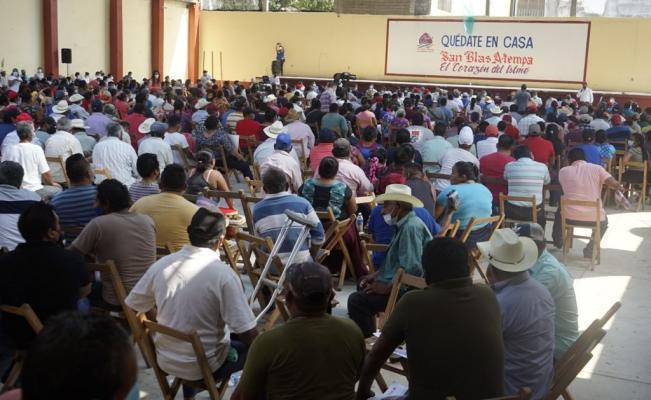 San Blas Atempa, comunidad zapoteca de Oaxaca, aprueba primer parque industrial del Interoceánico