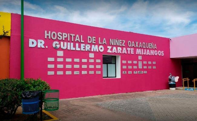 Despiden a 30% del personal médico del Hospital de la Niñez Oaxaqueña; piden reunión con AMLO