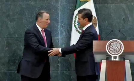 Deja José Antonio Meade la Secretaría de Hacienda