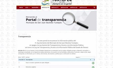 Perciben funcionarios del ayuntamiento de Tuxtepec ingresos exorbitantes