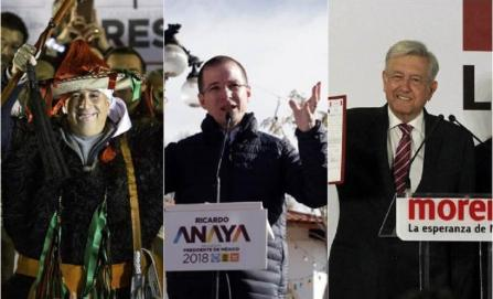 Precandidatos presidenciales inician camino a 2018