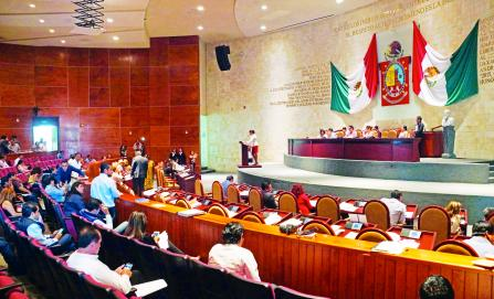 Congreso de Oaxaca, opaco y voraz