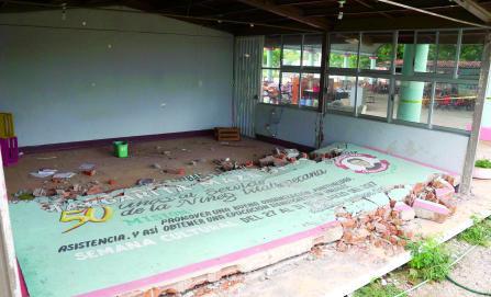 Reconstrucción total de escuelas, hasta marzo de 2018: Sinfra
