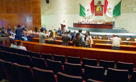 Congreso de Oaxaca, de los menos productivos