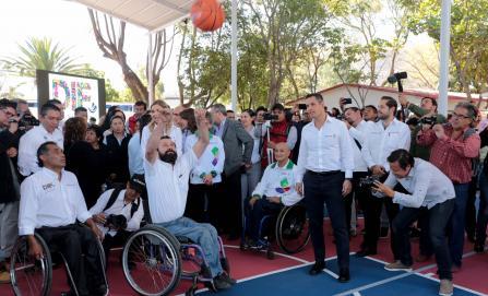 Rehabilitan unidad deportiva del DIF Oaxaca