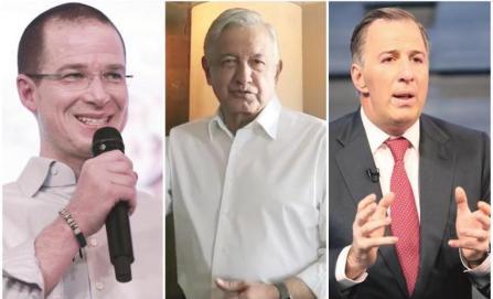 Combate a corrupción e inseguridad, armas de presidenciables