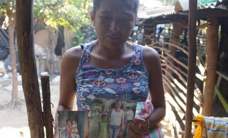 Un brinco la salvó de morir por helicóptero... pero perdió familia
