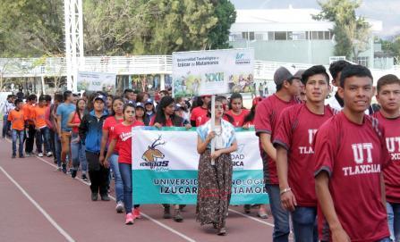 Inauguran encuentro deportivo y cultural de universidades