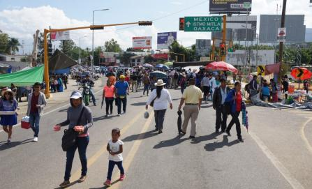 Inicia semana con protestas de CNTE y estudiantes