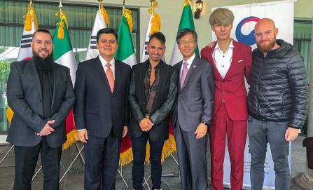 """El """"Cielito Lindo"""" ahora sonará en coreano"""