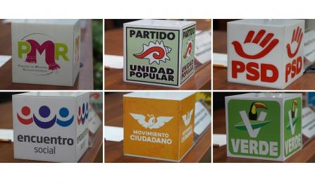 Seis partidos políticos de Oaxaca se perfilan a perder el registro