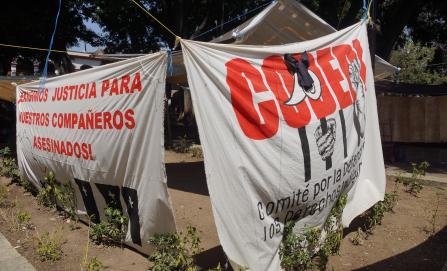 Condenan sindicatos y ONG asesinato de dirigente del Codedi