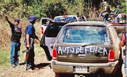 Resurgen autodefensas ante amenaza delincuencial
