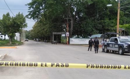 Asesinan a balazos a individuo en centro de Tuxtepec
