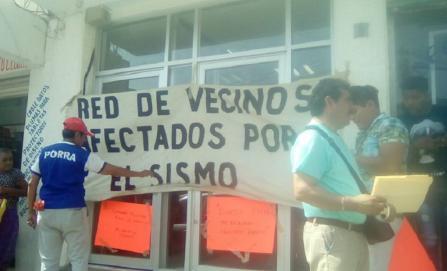 Seguirán protestas de damnificados por sismos pero sin bloqueos