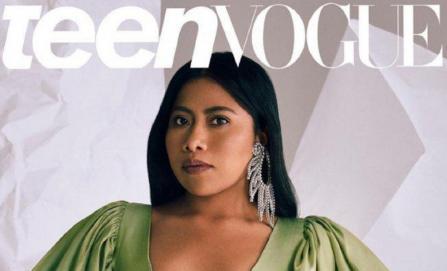 Yalitza Aparicio deslumbra en la revista Teen Vogue