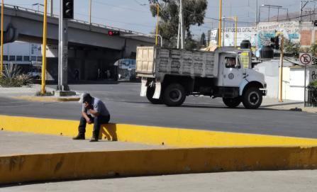 """Transportistas del Sindicato """"Libertad"""" sitian capital y zona conurbada"""