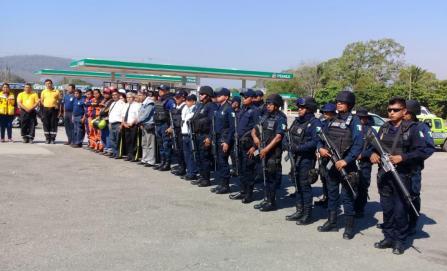 Arranca Semana Santa con bloqueo y operativos de seguridad en la Cuenca