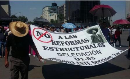 Un paliativo, memorándum de reforma educativa: CNTE; elbistas celebran