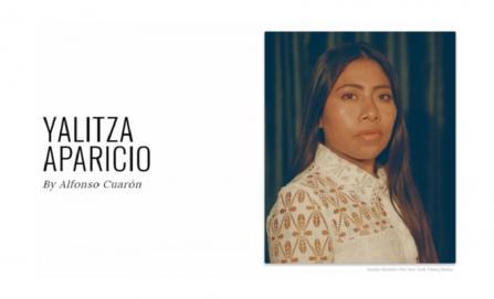 Yalitza Aparicio, entre los 100 líderes de la revista Time
