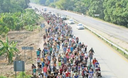 Migrantes, tras las rejas en México