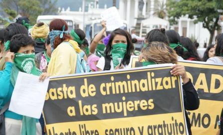 """""""No claudiquen, es la causa justa"""", pide Marea Verde a diputadas que impulsan aborto legal"""