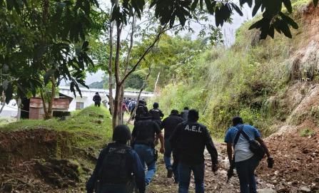 Hallan a elementos de la AEI desaparecidos en Xanica; fueron brutalmente golpeados