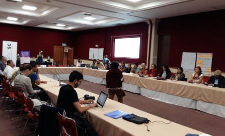 Realizan encuentro de defensores de derechos humanos y periodistas
