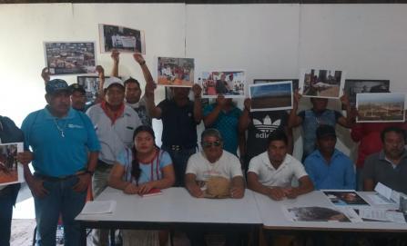 Rechazan ikoots construcción de camino que comunique a Santa María Del Mar