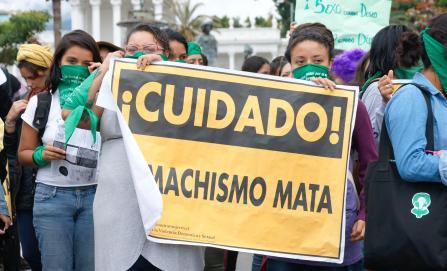 En 2019 aumentan en Oaxaca feminicidios y delitos sexuales