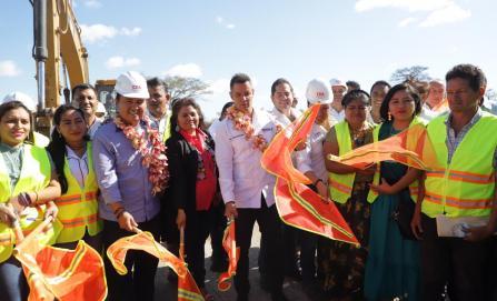 Inician rehabilitación del drenaje colapsado desde 2017 en Juchitán