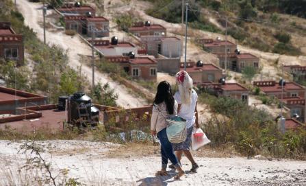 La 'ciudad sustentable' de Cué en Mitlatongo: fraude y abandono para sus habitantes