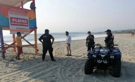 """Por """"rebrote a gran escala"""" de Covid, decretan cierre de playas y ley seca en Puerto Escondido"""