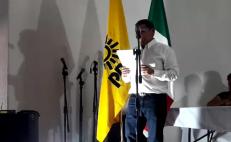 Raymundo Carmona, dirigente estatal del PRD