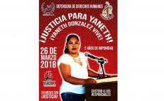 Familiares de activista asesinada en 2018, denuncian que el crimen sigue impune a dos años