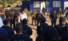 Separan del cargo a 35 policías de Loma Bonita; mando estatal queda al frente de la seguridad del municipio