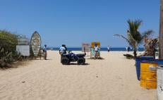 Puerto Escondido cierra playas al turismo por disposición oficial