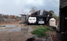 En plena cuarentena, lluvias dejan daños en viviendas de tres municipios