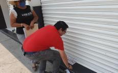 Clausuran 150 negocios en Salina Cruz por no respetar restricciones ante pandemia