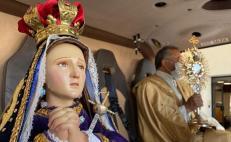 "Virgen de los Dolores ""vuela"" sobre Querétaro para frenar coronavirus"