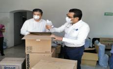 Suministran equipo de bioseguridad a 14 hospitales de Oaxaca para enfrentar pandemia