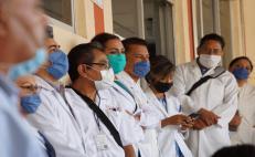 Tres integrantes del personal médico se han contagiado de Covid-19 en Oaxaca