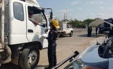 Ante riesgo por coronavirus, instalan filtros sanitarios en Juchitán